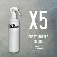 LIFE CLEAN 300ml EMPTY BOTTLE 5本セット