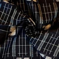 手紡ぎ糸 愛絣紬