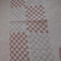 帯揚 紋紗市松