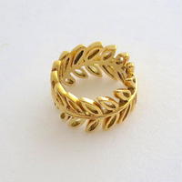 Ring Soleá 18KYG 01