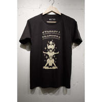 Kempbell brothers × Soft machine   Totem pole T-Shirt