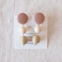Hand made earrings-j015