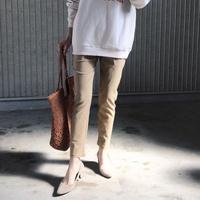 ストレッチ 美脚パンツ