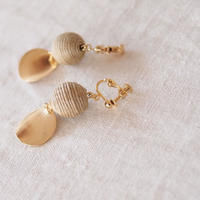 Hand made earrings-j019