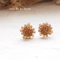 Hand made earrings-j027