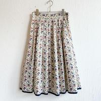 la reine Reinette リバティギャザースカート [floribunda/38]