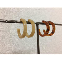 ear-4 acrylic hoop earrings