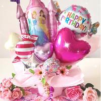 ディズニープリンセスキャッスル♥お誕生日♥記念日に♥