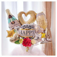人気のシャンパンアレンジ★開店・周年祝い★記念日に★