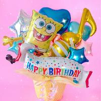 人気のスポンジボブ★色味変更可★お誕生日・開店祝い・発表会のお祝い等に★