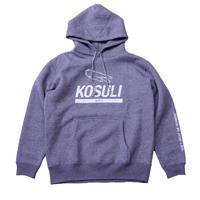 KOSULI HOODED SWEAT SHIRTS コスリ フーデッド スウェットシャツ