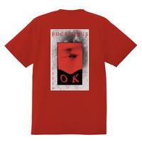 GEZAN//FUCK VIRUS T-shirts(Red)