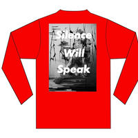 GEZAN//Silence Will Speak LT(Red/White)