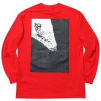 GEZAN TOZAN L/S TEE(Red/White)