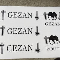 GEZAN//YOUTH StekkerSheet