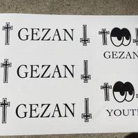 GEZAN//YOUTH StekkerSheet
