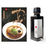 蔦監修 醤油ラーメン(半生)3食&UMAMI醤油1本セット