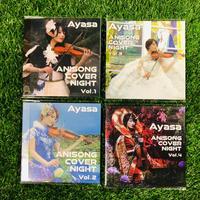 【CD】「ANISONG COVER NIGHT Vol.1〜4セット/Ayasa」【なんと!!¥10,000(税込)】