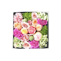 Box Flowerピンク