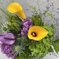 イエローBox Flower
