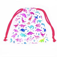 Dino draw string bag mini