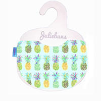 Pineapple / blue bib