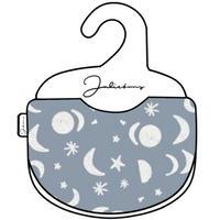 Moon stars bib