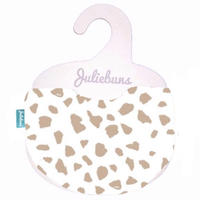 Cafe latte spots bib