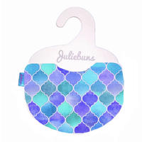 Blue tile bib