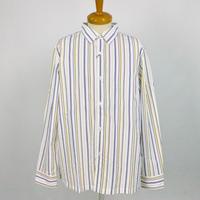 hanakazari 長袖ストライプシャツ