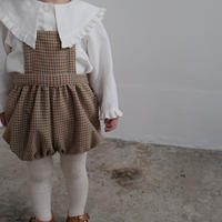 Apron romper / winter check