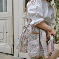 Balloon  blouse / white