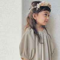 kids Summer dress  / oatmeal