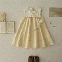 Sailor dress  / egg yellow