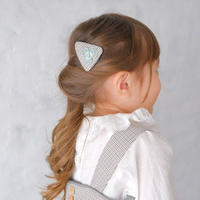 Frill collar blouse / white lace<09-29>