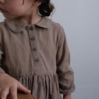 Macaron dress / cocoa