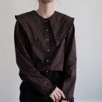 ladies * Lily blouse /  chocolate