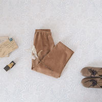 Tapered pants / caramel cream <09-43>