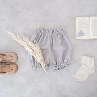 Pumpkin pants / grey beige <09-38>