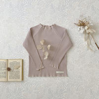 Rib mellow pullover / mauve <09-27>