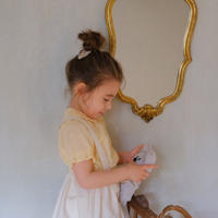 Coco blouse / egg yellow lace