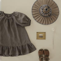kids Summer dress  / cocoa