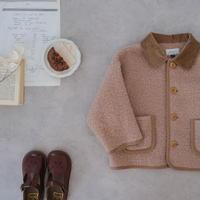 Short  blouson / caramel brown