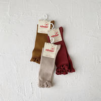 condor / Knee socks with lace edging cuff ( size : 2 )