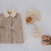 Wool coat / oatmeal