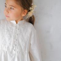 Galette dress / white sugar<09-03>