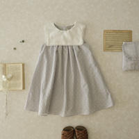×K du ciel Sailor dress  / air blue lace