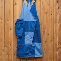 パッチワークサスペンダースカート(受注生産)