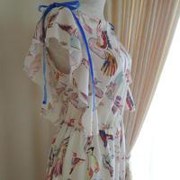 bird ribbon onepiece
