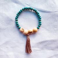 Natural  Acai woodbeads  bracelet